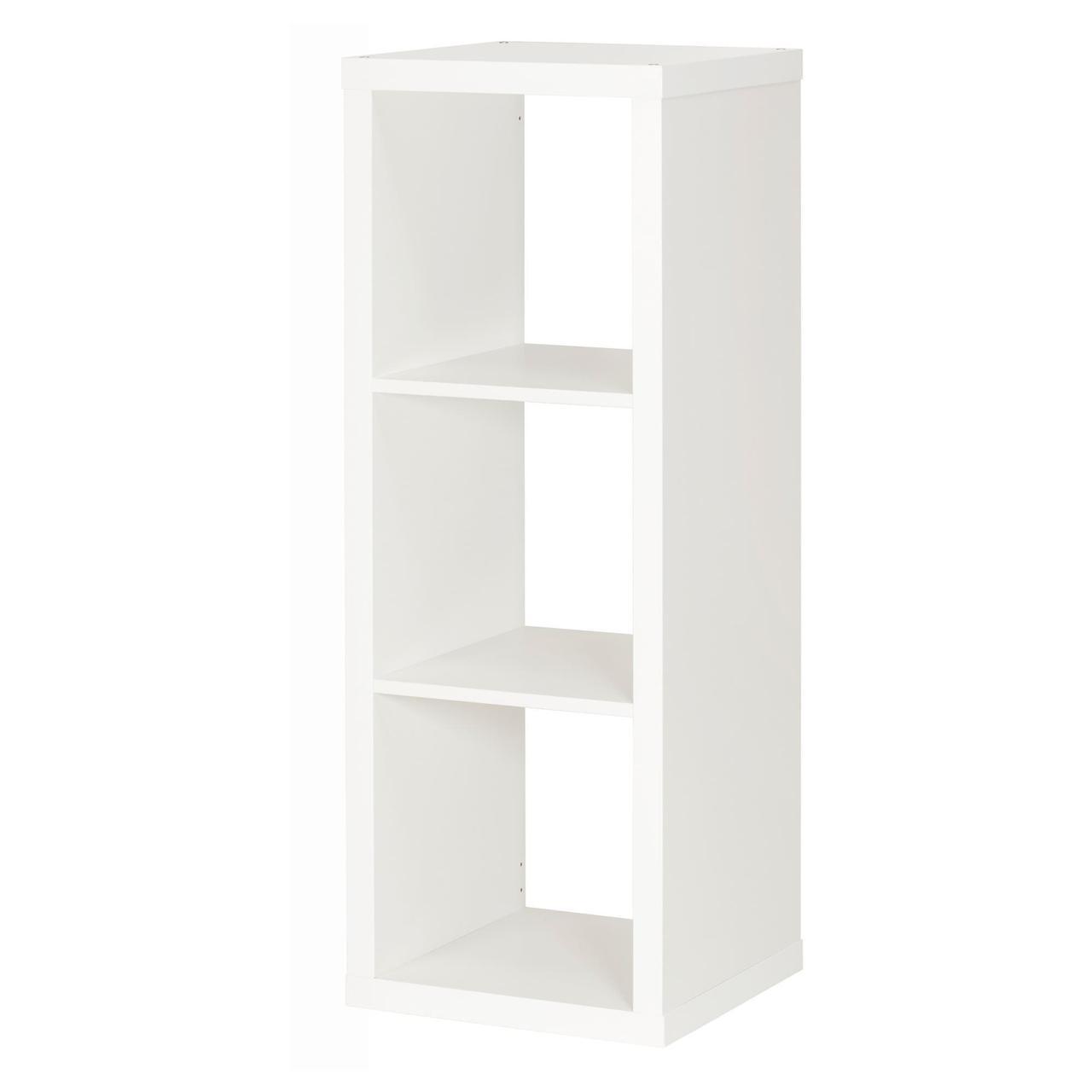 Стеллаж IKEA KALLAX 42x112 см белый 303.721.88