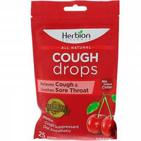 Леденцы от боли в горле без сахара вишни - снимает кашель и успокаивает боль в горле (25пак.,Пакистан)