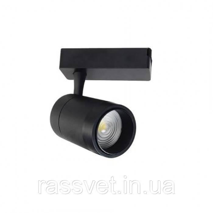 """Светильник трековый """"MONACO-30"""" 30W 4200K (с фокусом) чорний, белый"""