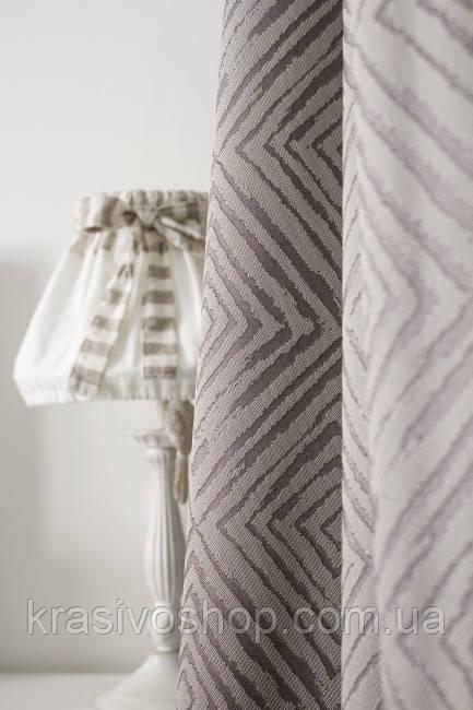 Ткань для пошива штор Трек 11 двустронняя