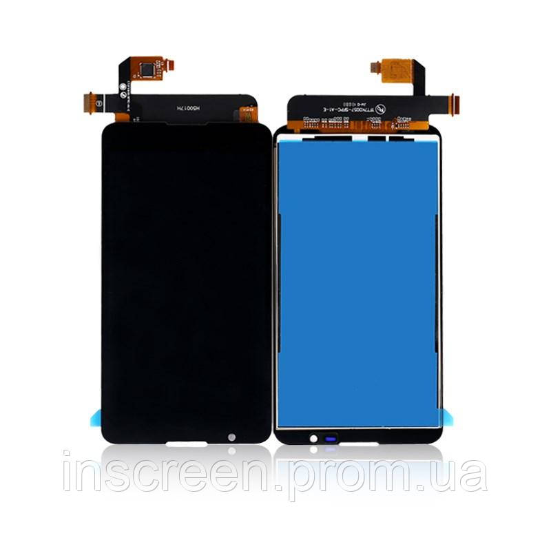 Экран (дисплей) Sony E2104, E2105, E2114, E2115, E2124 Xperia E4 с тачскрином (сенсором) черный