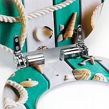 Сиденье для унитаза с микролифтом Natural style, стульчак Marina, фото 2