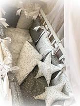 Постельный набор в кроватку тм Бонна