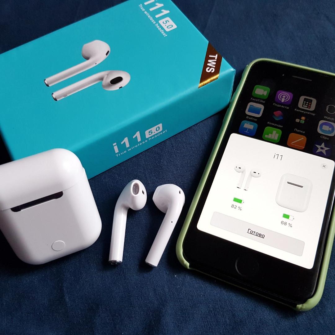 Беспроводные Bluetooth наушники i11-TWS