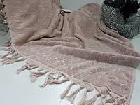 Двуспальное покрывало премиум класса Maison D`or DANİELLA Розовое
