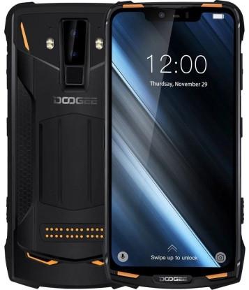 "Смартфон Doogee S90 6/128GB Orange SUPER VERSION, 2sim, 5050mAh, IP69K, 16+8/8Мп, экран 6.18"" IPS, 8 ядер, 4G"