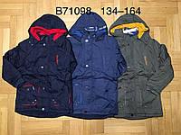 Куртки для мальчиков на флисе, Grace, 134,140,146,152 см,  № B71098