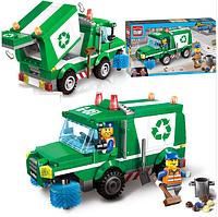 """Конструктор Brick """"Городская служба: вывоз мусора"""" (198 дет.) 1111"""