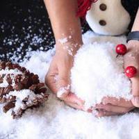 Декоративный снег
