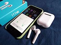 Беспроводные Bluetooth наушники AirPods  i11 TWS белые., фото 1