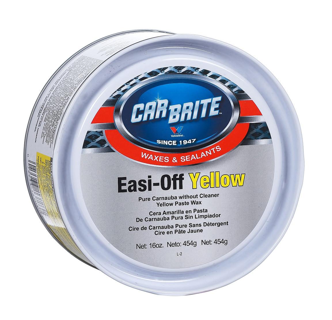 CarBrite Easy-off yellow твердий віск карнауба з полімерами