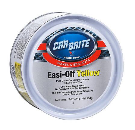 CarBrite Easy-off yellow твердий віск карнауба з полімерами, фото 2