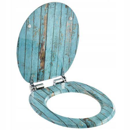 Сиденье для унитаза с микролифтом Natural style, стульчак Wooden
