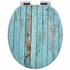 Сиденье для унитаза с микролифтом Natural style, стульчак Wooden, фото 2