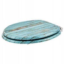 Сиденье для унитаза с микролифтом Natural style, стульчак Wooden, фото 3