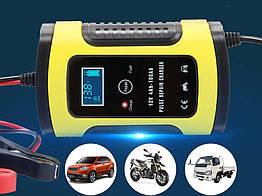 Авто зарядное устройство для аккумулятора Foxsur  12V 5-6A