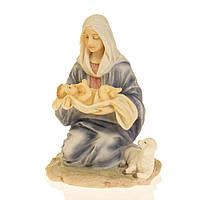 Статуэтка Veronese Мария и дитя 16х12х12 см 75996, фото 1