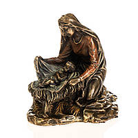 Статуэтка Veronese Божья матерь с младенцем 9х9 см 77338, фото 1