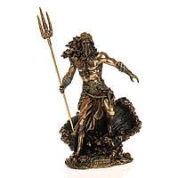 Статуэтка Veronese Повелитель морей - Посейдон 21х14 см 77315, фото 1