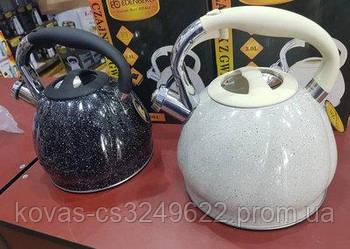Металлический чайник свистящий EDENBERG - 3л