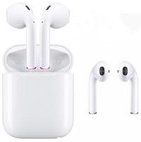 Беспроводные сенсорные Bluetooth наушники i12 TWS Белые