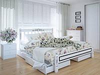 Ліжка дерев'яні Люкс