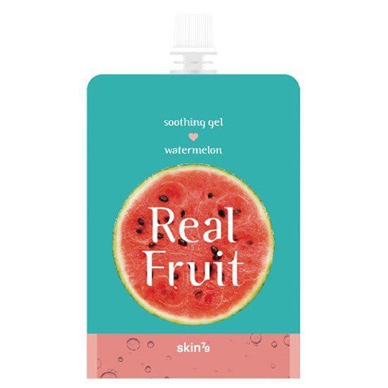 "Зволожуючий гель ""Кавун"" Skin79 Real Fruit Soothing Gel Watermelon 300g"
