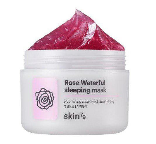 Нічна маска для обличчя Skin79 Rose Waterful Sleeping Mask 100g (Потерта упаковка)