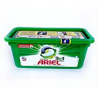 Капсулы  для стики белья белого и светлого  Ariel Universal All in 1, 30шт