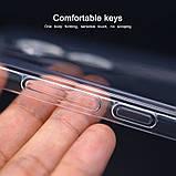 Защитный силиконовый чехол для Meizu X8 / прозрачный / стекла в наличии /, фото 6
