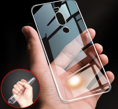 Защитный силиконовый чехол для Meizu X8 / прозрачный / стекла в наличии /