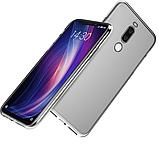 Защитный силиконовый чехол для Meizu X8 / прозрачный / стекла в наличии /, фото 3