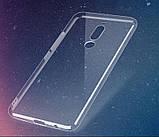 Защитный силиконовый чехол для Meizu X8 / прозрачный / стекла в наличии /, фото 2