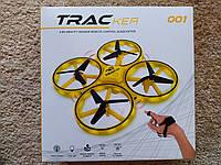 Квадрокоптер TRAC з управлінням жестами руки, Дрон з Підсвічуванням, ОРИГІНАЛ, фото 1