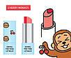 Двухцветный бальзам для губ Skin79 Animal Two-Tone Lip Balm Cherry Monkey 3.8g, фото 2