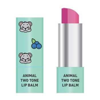 Двоколірний бальзам для губ Skin79 Animal Two-Tone Lip Balm Blueberry Mouse g 3.8