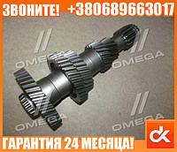 Вал промежуточный КПП (в сб. с подш. пр-во RIDER) ГАЗ 3309