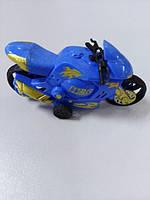 Детская игрушка мотоцикл Was синий