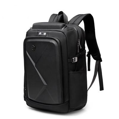 """Мужской Рюкзак для Ноутбука 17"""" Городской Arctic Hunter (B00295) Вместительный Черный"""