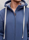 Комбинезон теплый мужской QSLEEP хлопок, рост 164-170 размер 44, фото 7