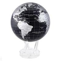 """Глобус самовращающийся левітує Mova Globe """"Політична карта"""", чорний, діаметр 216 мм (США)"""