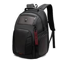 """Мужской Городской Рюкзак для Ноутбука 15.6"""" и Планшета Arctic Hunter (B00341) Черный"""