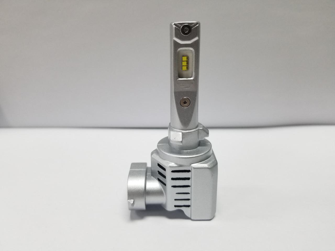 Светодиодные авто лампы LED головного света нового поколения Н27 880/881 Philips ZES  1000Lm 55Watt