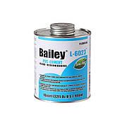 Клей ПВХ для труб  Bailey L-6023, 237 мл