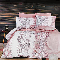 """Комплект постельного белья """"DO&CO"""" Vesta Saten (двуспальный евро)"""