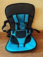 Безкаркасне дитяче автокрісло Multi Car, Синє, фото 1
