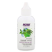 "Спрей для носа NOW Foods, Solutions ""Activated Nasal Mist"" (59 мл)"