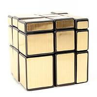 """Головоломка """"Зеркальный Куб"""" """"золото""""(6х6х6 см) ( 26445)"""