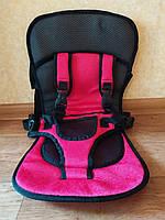Безкаркасне дитяче автокрісло Multi Car, Червоне, фото 1