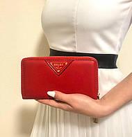 Бархатный женский портмоне  19*10 см, фото 1
